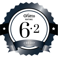 Oratto rating 6.2 credit