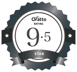 Oratto Contributor member rating badge