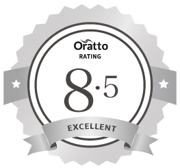 Oratto member rating badge