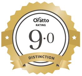 Oratto Premium member rating badge